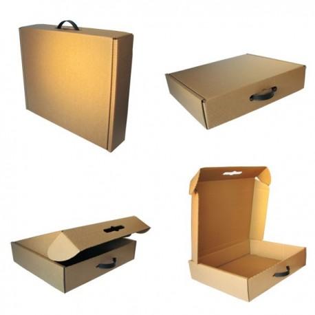Caja Maletín de Cartón 44x37x10cm