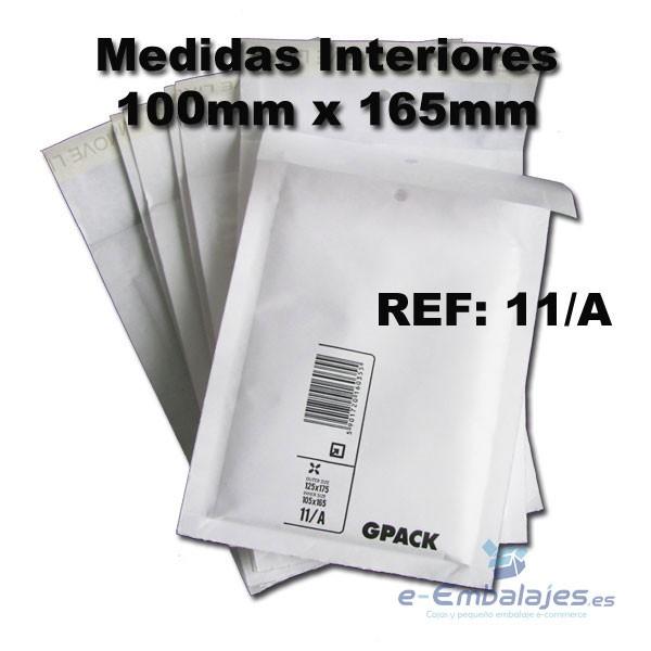 GPACK  SOBRES BURBUJA MARRON 215X150 PACK 200 SOBRES ACOLCHADOS KRAFT Nº 3