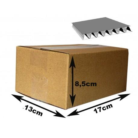 17x13x8,5 cm Cajas Cartón canal simple. 15 unidades