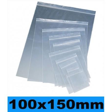 100x150mm. 100 Bolsas con Cierre a Presión nº6