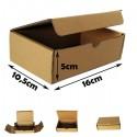 16x10,5x5cm. Cajas postales Automontables