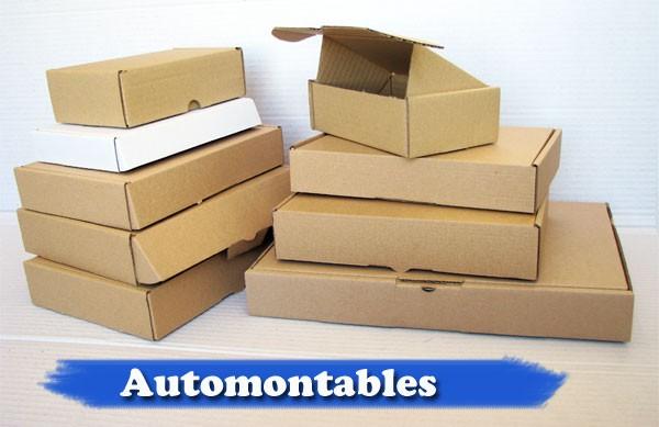 Cajas Automontables Postales carton