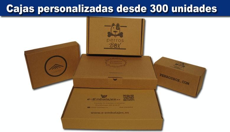 Cajas personalizadas con tu logo desde 300 unidades
