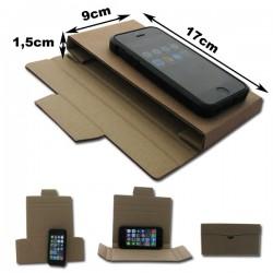 17x9x1,5cm. Caja carpeta funda para envíos.