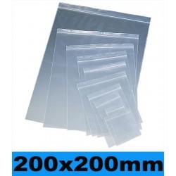 200x200mm. 100 Bolsas con Cierre a Presión nº10
